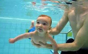 Swimming Toddler